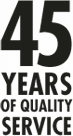 45 Year of Quality Services